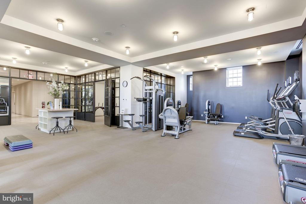 Exceptional 2,000+sf Fitness Center - 2660 CONNECTICUT AVE NW #5E, WASHINGTON