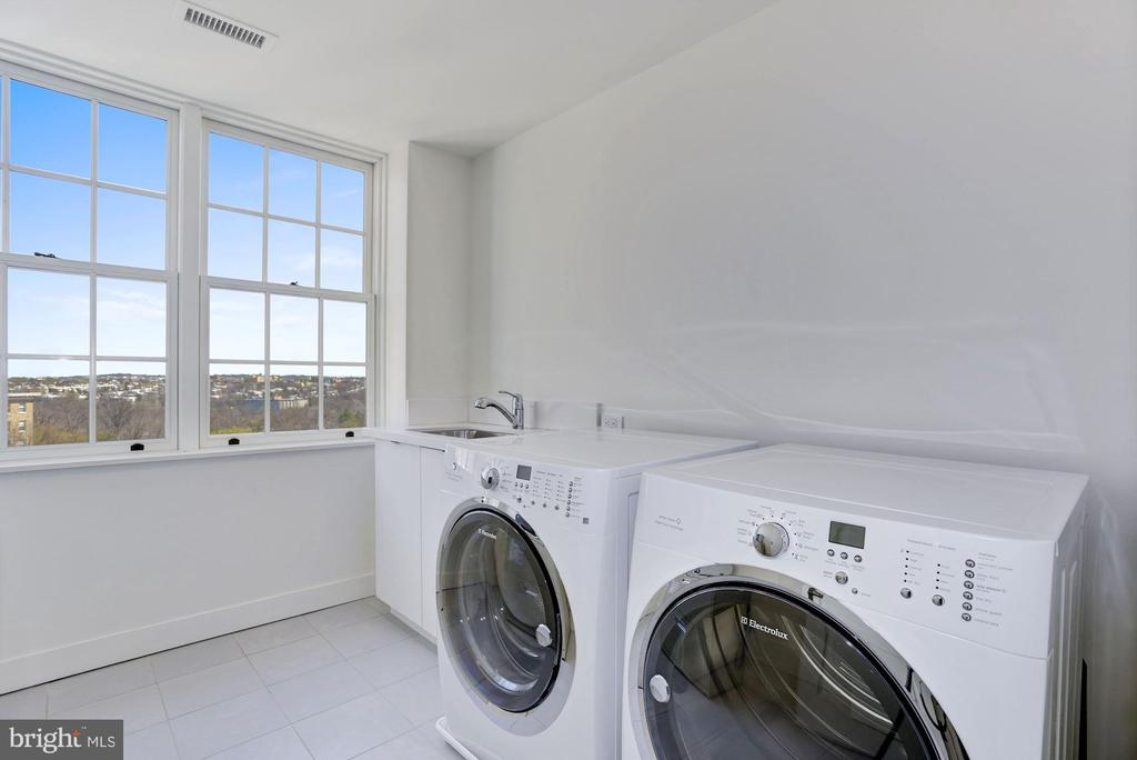 Laundry Room - 2660 CONNECTICUT AVE NW #5E, WASHINGTON