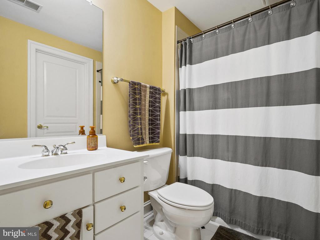 Full Bathroom in Basement - 5203 ROSALIE RIDGE DR, CENTREVILLE