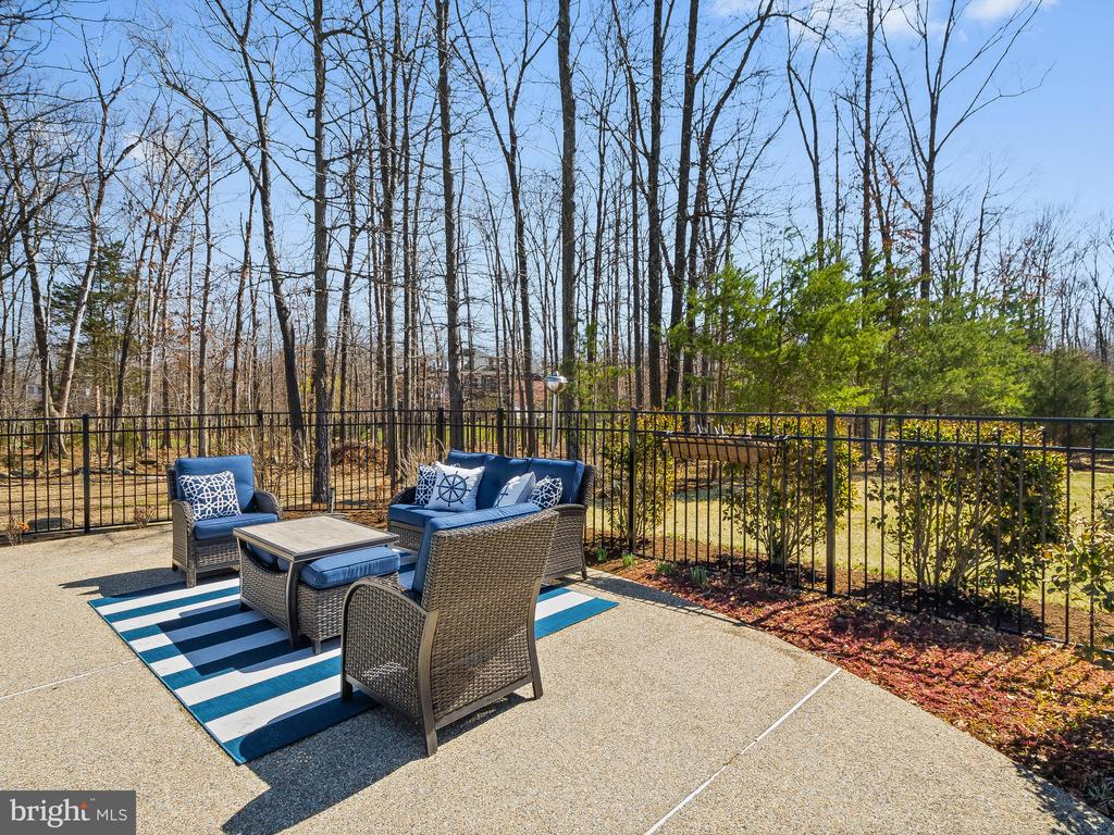 Fenced pool gathering space - 5203 ROSALIE RIDGE DR, CENTREVILLE