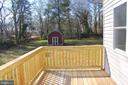 Back deck - 5201 MOUNT VERNON MEMORIAL HWY, ALEXANDRIA