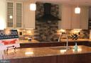 Kitchen backsplash - 5201 MOUNT VERNON MEMORIAL HWY, ALEXANDRIA