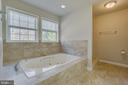 Large Sunken Tub with Whirlpool Jets - 336 WINDERMERE DR, STAFFORD