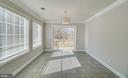Tiled Breakfast Area off Kitchen - 336 WINDERMERE DR, STAFFORD