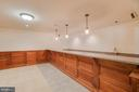 Bar and Kitchen in Basement - 336 WINDERMERE DR, STAFFORD
