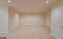 Large Guest Room in Basement (NTC for Bedroom) - 336 WINDERMERE DR, STAFFORD