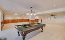 HUGE Finished Basement Recreation Room - 336 WINDERMERE DR, STAFFORD