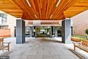 Building secured entrance - 2939 VAN NESS ST NW #807, WASHINGTON