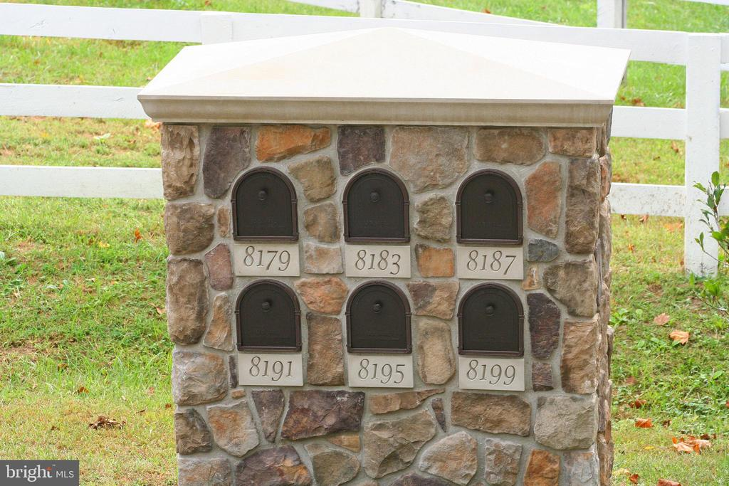 Mailboxes For Estate Lots Already  Installed - 8187 PETERS RD, FREDERICK