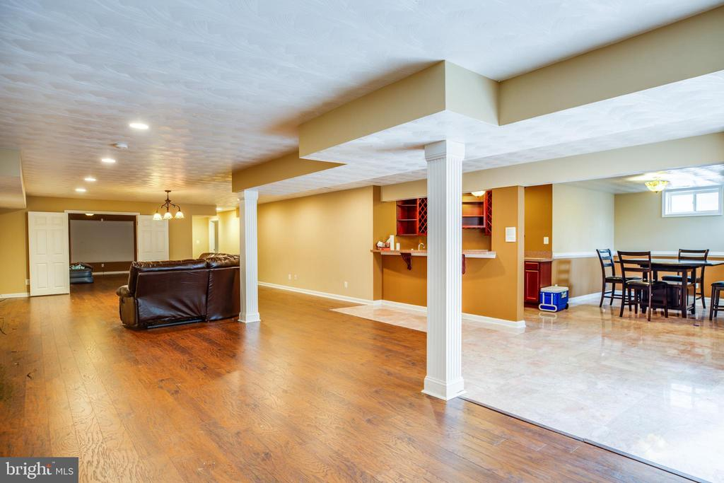 Open basement - 13610 KALMBACKS MILL DR, FREDERICKSBURG