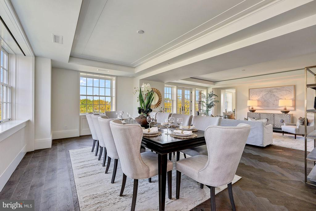 Dining Area for Entertaining - 2660 CONNECTICUT AVE NW #4C, WASHINGTON