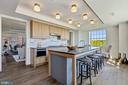 Gourmet Kitchen with Breakfast Bar - 2660 CONNECTICUT AVE NW #4C, WASHINGTON