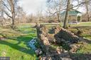 Trout Stream runs along TRAILS/Gazebo/picnic area - 17160 SPRING CREEK LN, LEESBURG