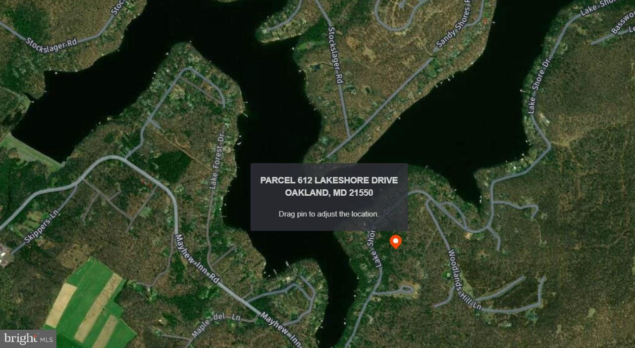 Land for Sale at Parcel 612 Lake Shore Drive Oakland, Maryland 21550 United States