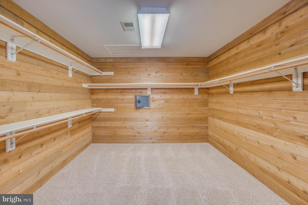 Spacious Master Closet with custom Shelves - 336 WINDERMERE DR, STAFFORD