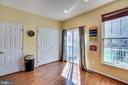 Small tablespace/Kitchen/Balcony - 42766 LONGWORTH TER, CHANTILLY