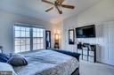 Master Bedroom with waterview/Pond - 42766 LONGWORTH TER, CHANTILLY