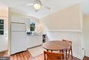 Kitchenette and dining area - 35422 PAXSON RD, ROUND HILL