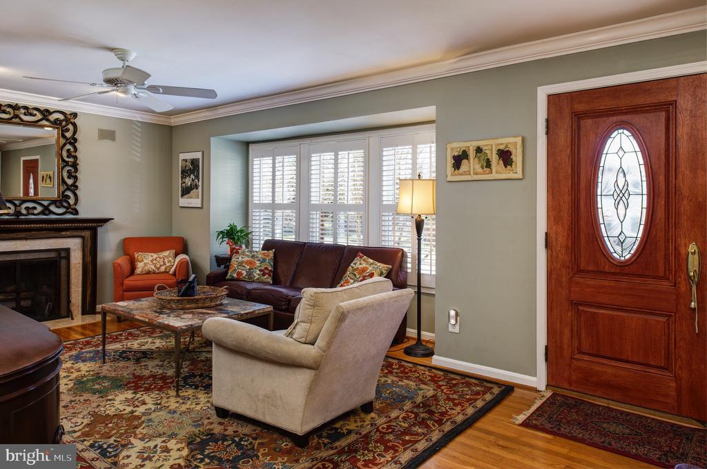 Hardwood floors - 4651 STRATHBLANE PL, ALEXANDRIA