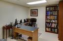 Lower level office/den/whatever you need - 4651 STRATHBLANE PL, ALEXANDRIA