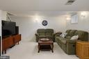 Lower level family room - 4651 STRATHBLANE PL, ALEXANDRIA