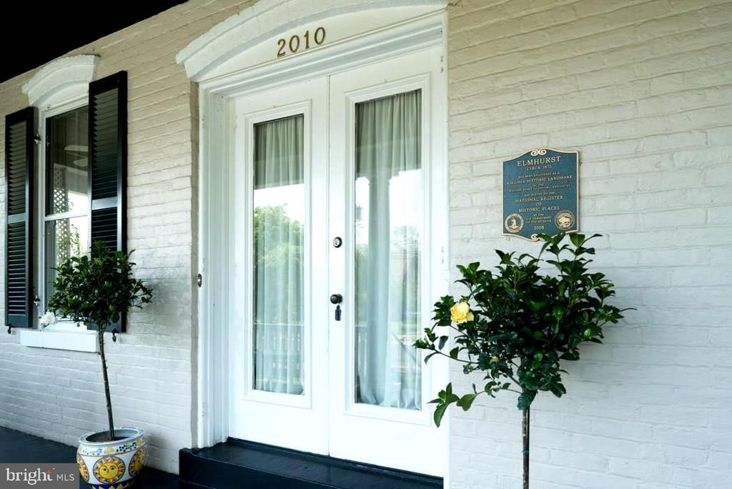 Paired doors for grand entrance. - 2010 FALL HILL AVE, FREDERICKSBURG