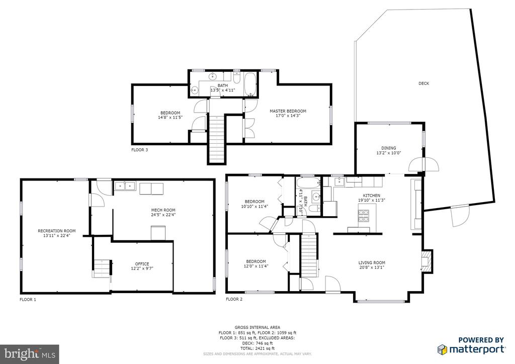 Floor Plan - 4651 STRATHBLANE PL, ALEXANDRIA