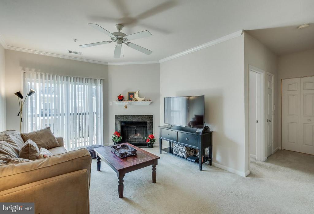 Family room - 5106-K TRAVIS EDWARD WAY, CENTREVILLE