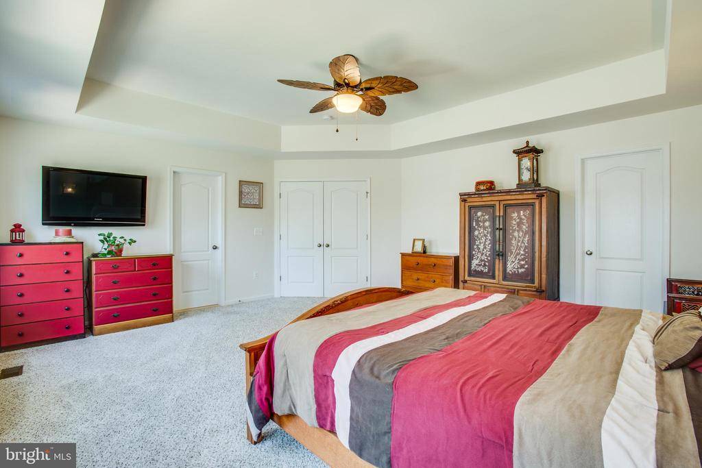 Spacious master suite - 512 RICHARDS FERRY RD, FREDERICKSBURG