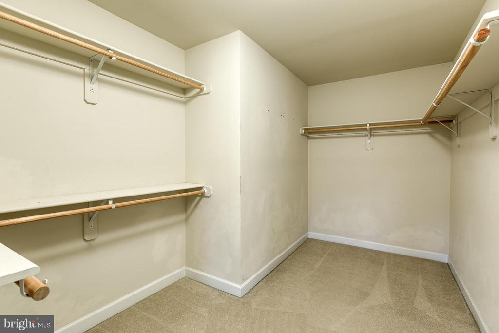 Master bedroom spacious walk in closet - 6 NOAHS CT, STAFFORD
