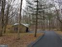 Driveway entering property to pole barn. - 13712 PRYOR RD, THURMONT
