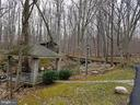 Secluded and peaceful gazebo on the creek. - 13712 PRYOR RD, THURMONT