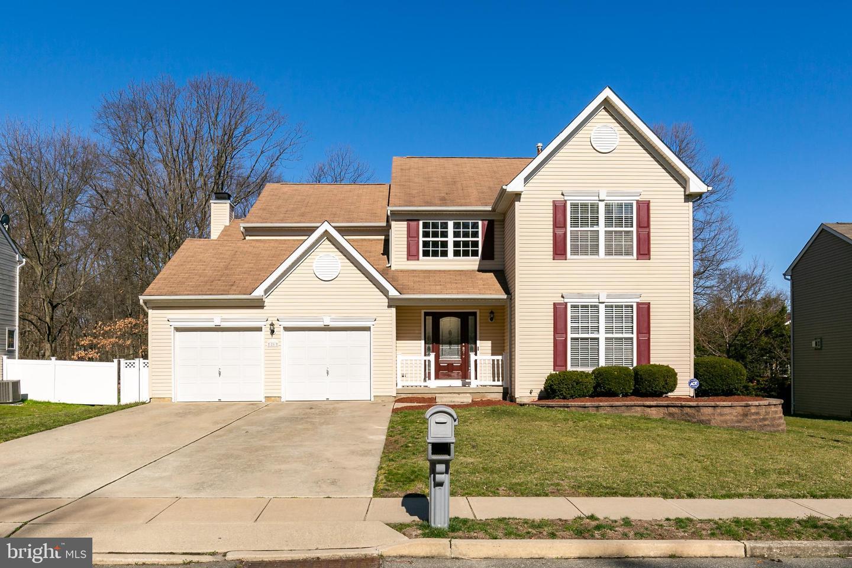 Частный односемейный дом для того Продажа на 21 HARPER BLVD Delran, Нью-Джерси 08075 Соединенные Штаты