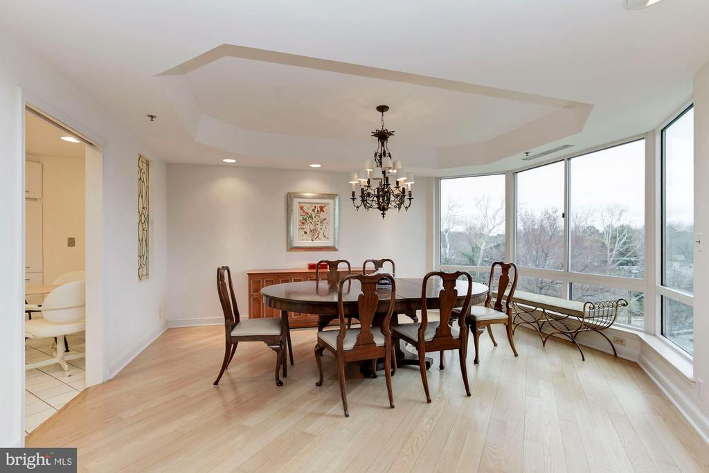 Dining Room - 5600 WISCONSIN AVE #1-507, CHEVY CHASE