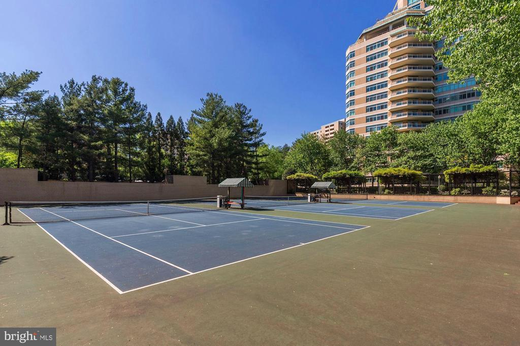 Tennis Courts - 5600 WISCONSIN AVE #1-507, CHEVY CHASE