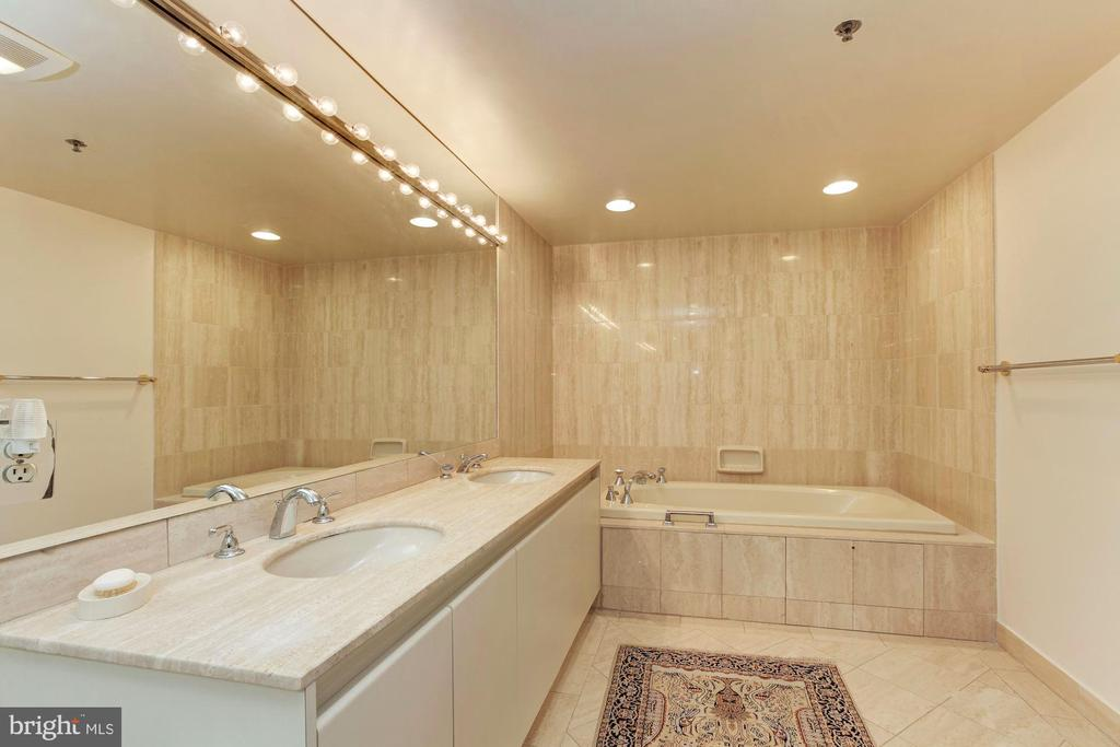 Master Bathroom - 5600 WISCONSIN AVE #1-507, CHEVY CHASE
