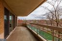 Balcony - 5600 WISCONSIN AVE #1-507, CHEVY CHASE