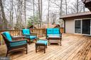 Back deck, ample space for entertaining - 3704 LAKEVIEW PKWY, LOCUST GROVE