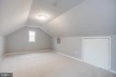 Bedroom  #4/ Finished Attic - 3514 7TH ST N, ARLINGTON