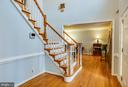 Entrance Foyer - 13412 FOX CHASE LN, SPOTSYLVANIA
