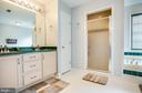 Master Bath with Dual Vanities - 13412 FOX CHASE LN, SPOTSYLVANIA