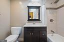 Renovated Master Bath - 15520 JONES LN, GAITHERSBURG