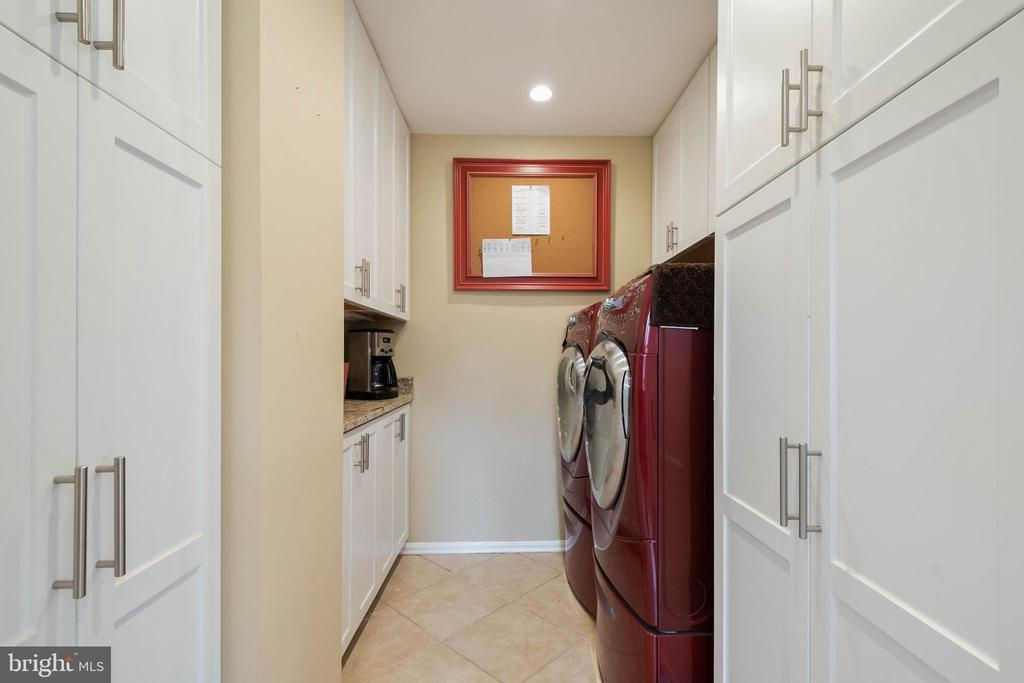 Pantry and Laundry Room with additional storage. - 15520 JONES LN, GAITHERSBURG