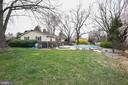 Back yard with pool and hot tub - 15520 JONES LN, GAITHERSBURG