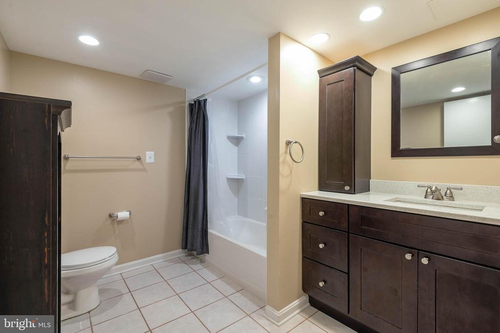 Lower Level full bath - 15520 JONES LN, GAITHERSBURG