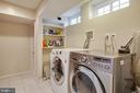 Lower level Laundry room - 9200 FLOWER AVE, SILVER SPRING
