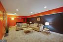 Recreation Room with new carpet - 9200 FLOWER AVE, SILVER SPRING