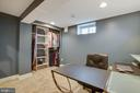 Office with closet space. New carpeting. - 9200 FLOWER AVE, SILVER SPRING