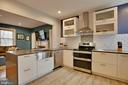 Renovated Kitchen - 9200 FLOWER AVE, SILVER SPRING