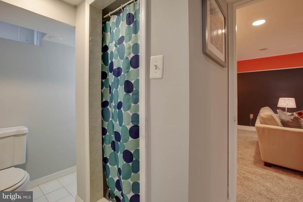 Lower level Full bath - 9200 FLOWER AVE, SILVER SPRING